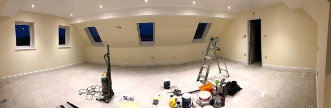 Building Work – Project 2 – The Loft